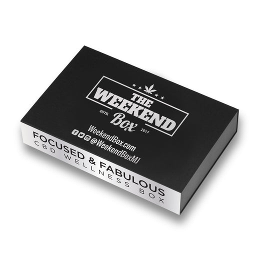 The Weekend Box CBD: Focused and Fabulous