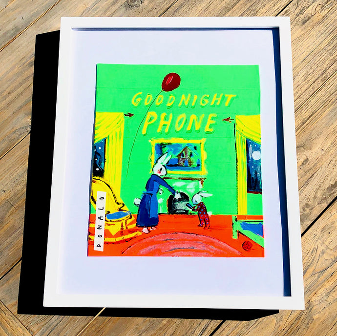 Goodnight Phone Print