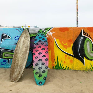 Glitter Custom Surfboard