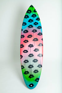 Lip Print Custom Surfboard