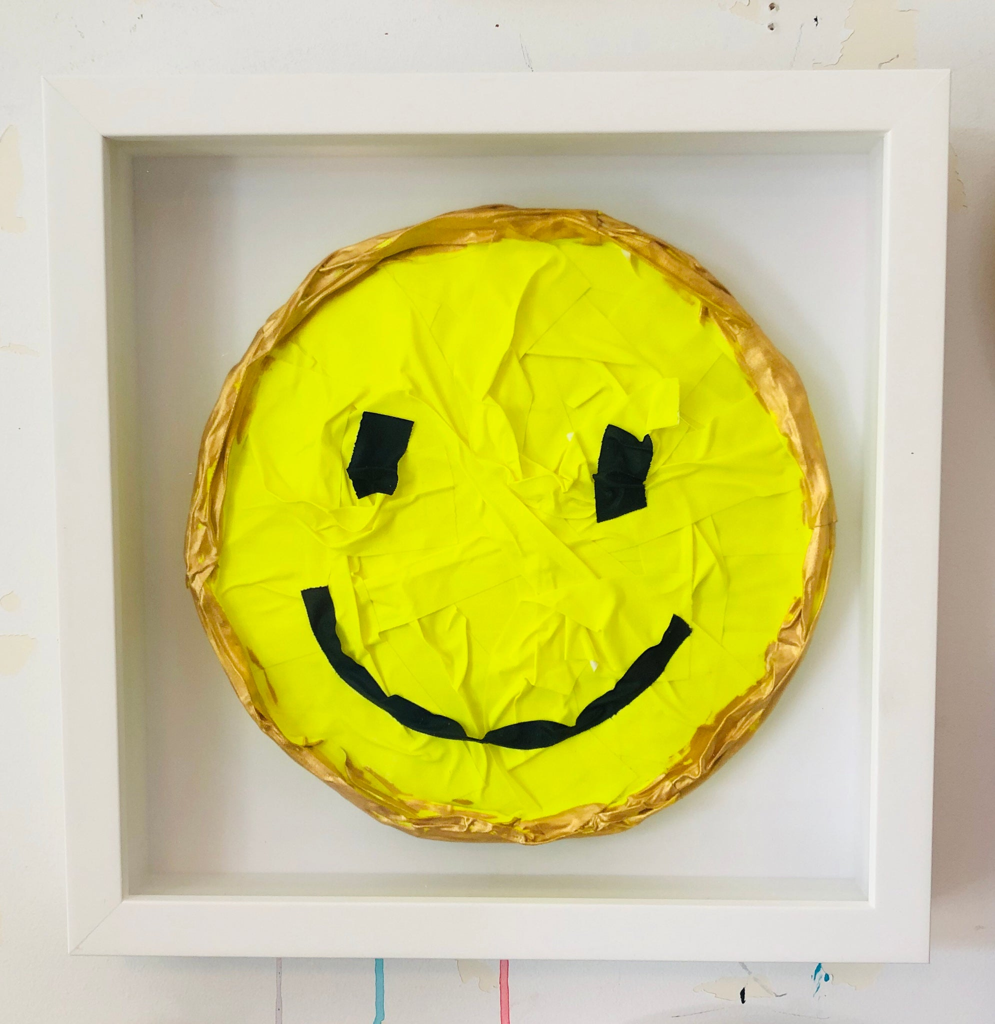 Gaffertape Lemon Tart Happy Face
