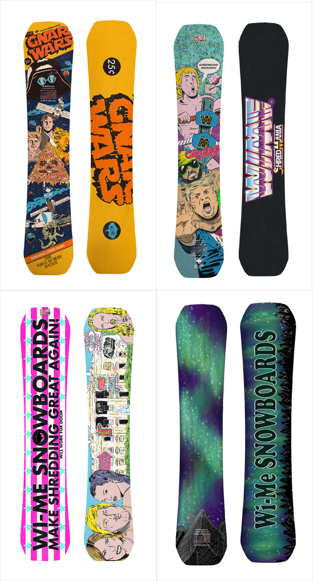 Just give me the Graphics Rocker Snowboard