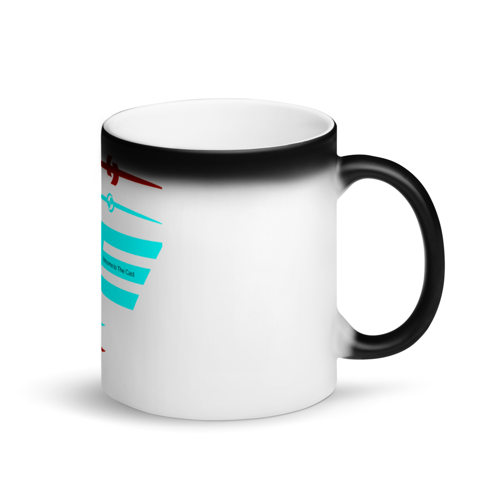 Plug Bots - Matte Black Magic Mug