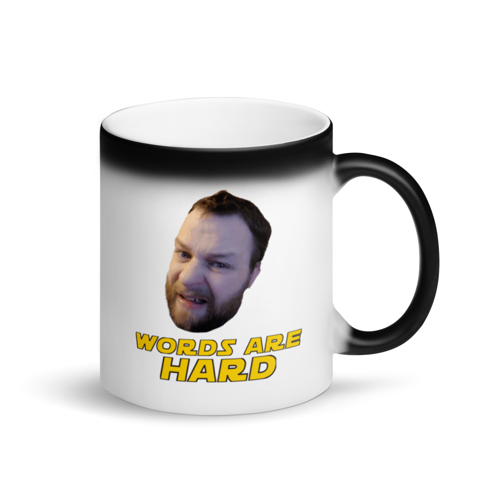 WAH Mugs & More - Matte Black Magic Mug