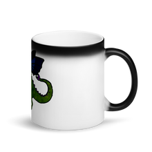 Shauni the dragon - Matte Black Magic Mug