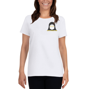Dark Side Best Side - Gildan Ladies Heavy Cotton T-Shirt w/ Tear Away Label