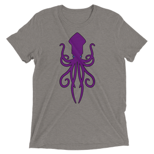 The Kraken - Bella + Canvas Unisex Triblend T-Shirt with Tear Away Label