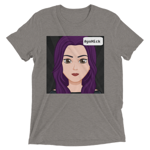Little Me - Bella + Canvas Unisex Triblend T-Shirt with Tear Away Label
