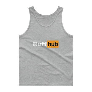 Ruff Hub - Gildan Ultra Cotton Tank Top w/ Tear Away Label