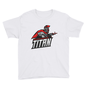 MachineGunTitan  - Anvil Youth Lightweight T-Shirt with Tear Away Label