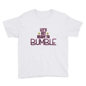 Ready to Bumble? - Anvil Youth Lightweight T-Shirt with Tear Away Label