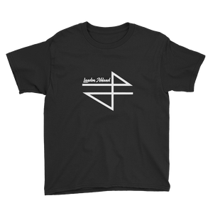 Landon Noland - Logo w/ name - Anvil Youth Lightweight T-Shirt with Tear Away Label