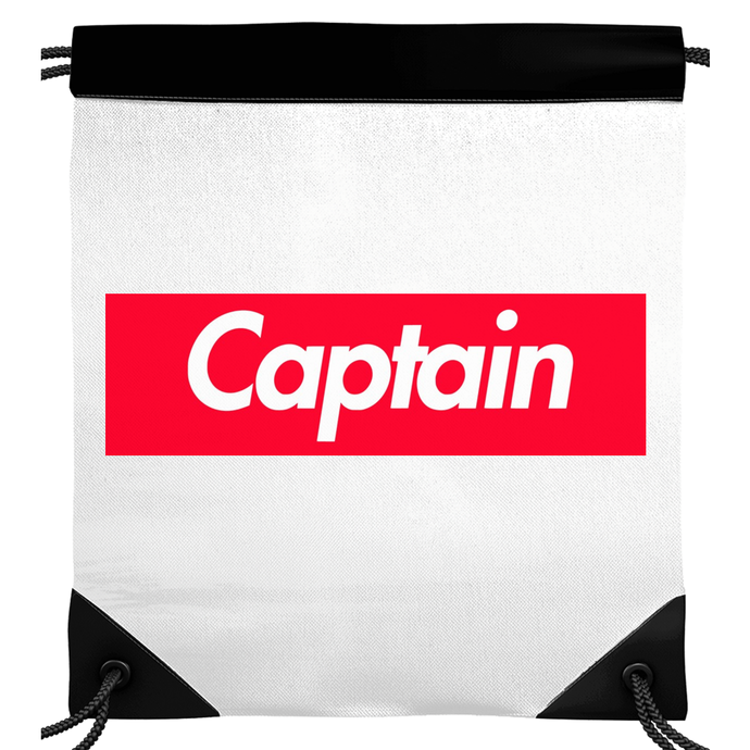 Captain Skids Drawstring Backpack
