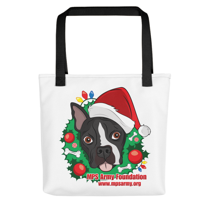 Holiday Pup - All-Over Print Tote