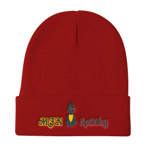 Yellow on Red - Beanie
