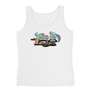 DaBoSSSSLady Official Logo - Anvil Ladies Missy Fit Tank Top with Tear Away Label