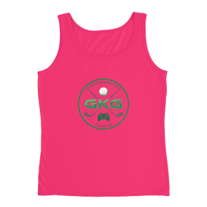 GKG Logo 2 - Anvil Ladies Missy Fit Tank Top with Tear Away Label