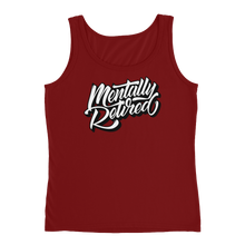 Mentflix - Anvil Ladies Missy Fit Tank Top with Tear Away Label