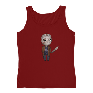 Jason Voorhees Rah Horde - Anvil Ladies Missy Fit Tank Top with Tear Away Label