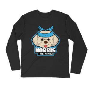 Pup Pack - Next Level Fitted Long Sleeve Crew w/ Tear Away Label