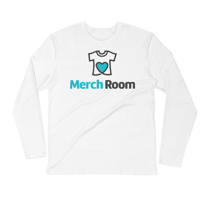 MerchRoom - Next Level Fitted Long Sleeve Crew w/ Tear Away Label
