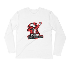 PennyTheGamer Logo - Next Level Fitted Long Sleeve Crew w/ Tear Away Label