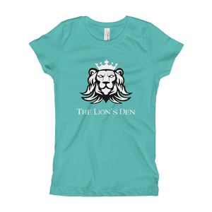 The Lion's Den with Lion - Next Level Girl's Princess Tee w/ Tear Away Label