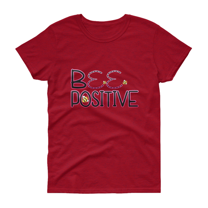 BeePositive - Gildan Ladies Heavy Cotton T-Shirt with Tear Away Label