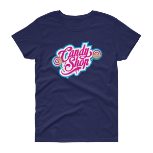 The Candy Shop - Gildan Ladies Heavy Cotton T-Shirt w/ Tear Away Label