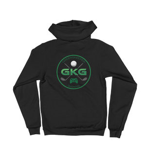 GKG Logo - American Apparel Unisex Fleece Zip Hoodie