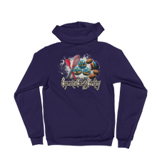 Cupcake crazy cooking - American Apparel Unisex Fleece Zip Hoodie