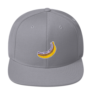 Banana Throw - Wool Blend Snapback