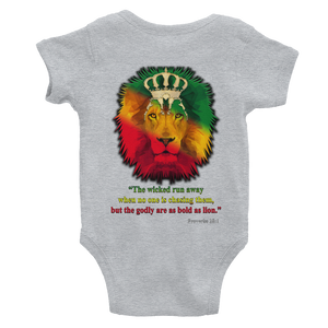Godly Lion - Rabbit Skins Infant Baby Bodysuit