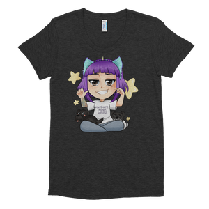 Ultimate Mixer Waifu - American Apparel Women's Tri-Blend T-Shirt