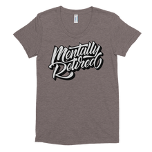 Mentflix - American Apparel Women's Tri-Blend T-Shirt