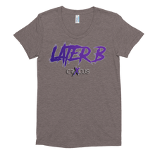 Later B - American Apparel Women's Tri-Blend T-Shirt