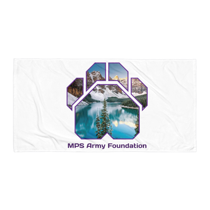 Winter Mountain - Towel