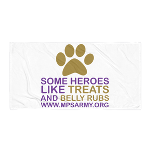 Treats & Belly Rubs - Towel