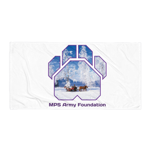 Winter Sleigh Ride - Towel