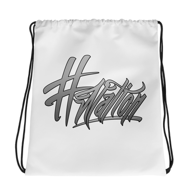 #Nation - Drawstring Backpack