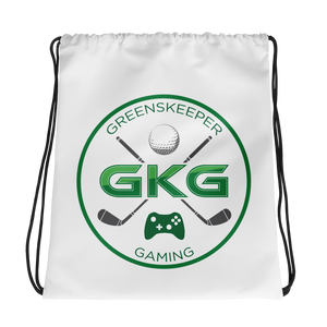 GKG Logo 2 - Drawstring Backpack