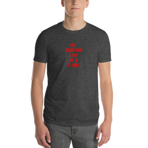 Quip Tee - Anvil Lightweight Short Sleeve T-Shirt w/ Tear Away Label