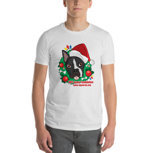 Holiday Pup - Anvil Lightweight Short Sleeve T-Shirt w/ Tear Away Label
