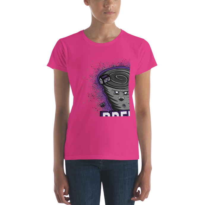 Breezy - Anvil Ladies Fit T-Shirt w/ Tear Away Label