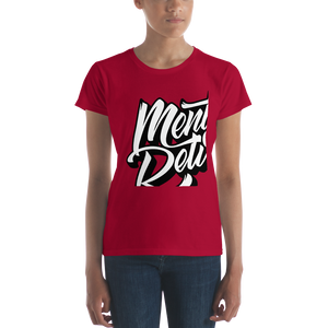 Mentflix - Anvil Ladies Fit T-Shirt w/ Tear Away Label
