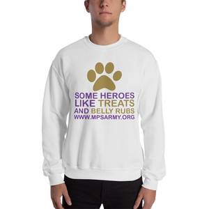 Treats & Belly Rubs - Gildan Heavy Blend Crewneck Sweatshirt