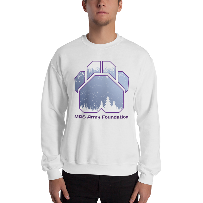 White Christmas - Gildan Heavy Blend Crewneck Sweatshirt