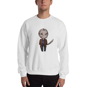 Jason Voorhees Rah Horde - Gildan Heavy Blend Crewneck Sweatshirt