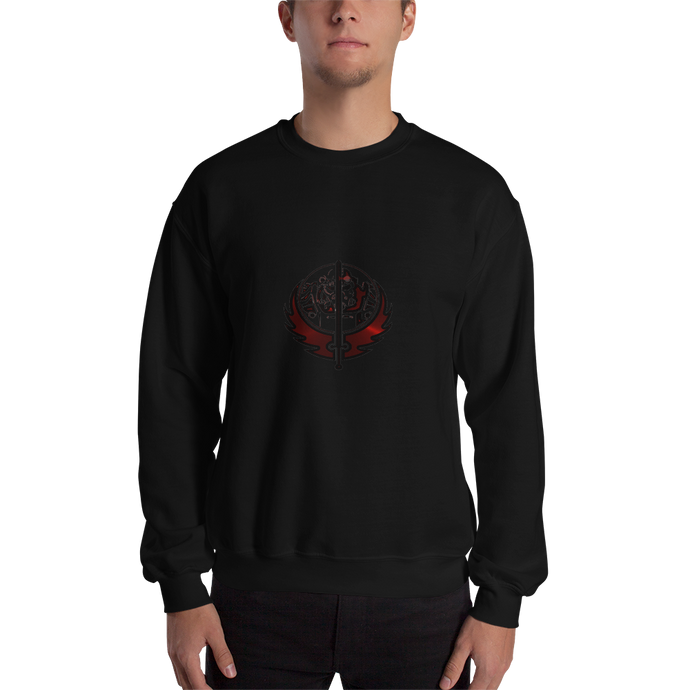 Canadian Ninja Knight - Gildan Heavy Blend Crewneck Sweatshirt