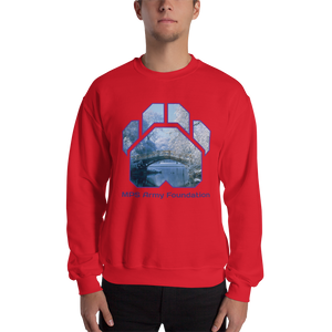 Winter Bridge - Gildan Heavy Blend Crewneck Sweatshirt